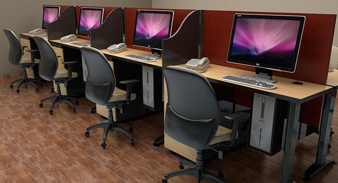 Jafher somos expertos en muebles para oficinas for Muebles para call center
